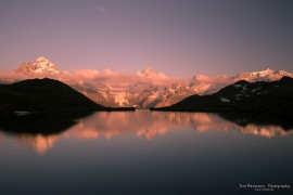 Sunset at Bachalpsee