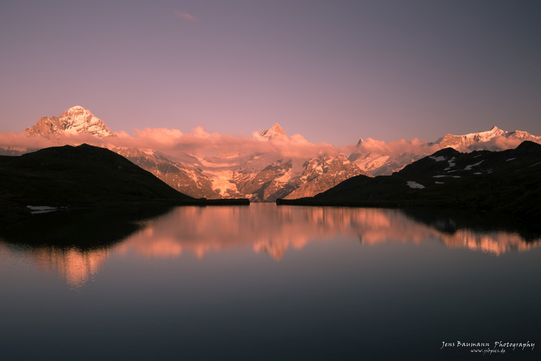 Sunset at Bachalpsee
