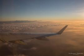 Flight Zurich-Rome