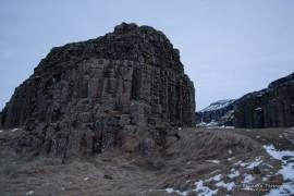 Dverghamrar basalt columns