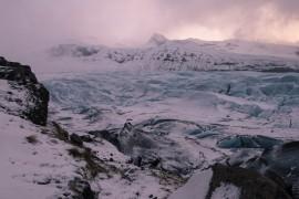 Glacier at Skaftafell National Park
