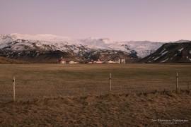 Farm in front of Eyjafjallajökull