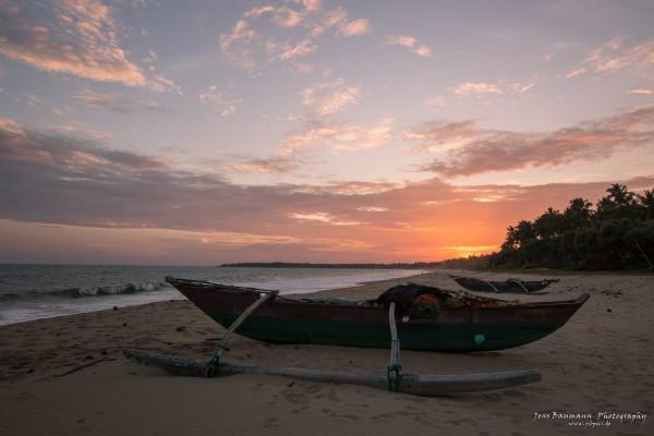 Last Sunset at Rekawa Beach