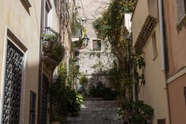 Streets in Taormina