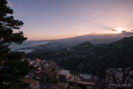 Castelmola sunset