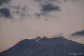 Etna - a bit of smoke