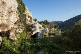 Pantalica - caves