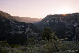 Pantalica - sunset