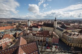 Sibiu - view from the church