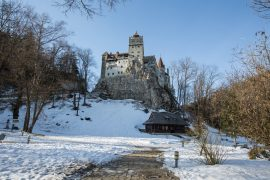 Dracula Castle - Bran in winter