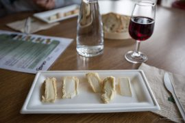 Cheese Tasting at Gaugry