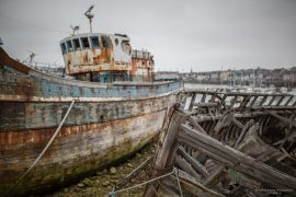Shipwrecks at Camaret sur mer