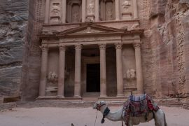 Treasury with Camels