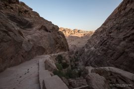 Hiking Up the Al Khubta Trail