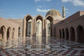 Sultan Quaboos Mosque Muscat