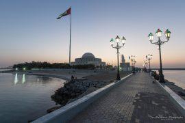 VAE Flag Abu Dhabi