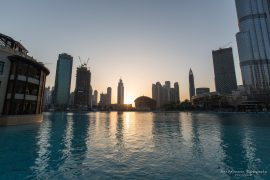 Dubai Fountain (when it is off)