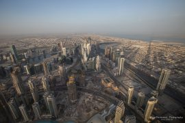 Morning view from Burj Khalifa