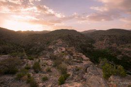 Wadi Bani Habib sunset