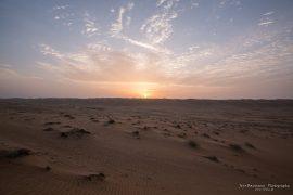 Wahiba Sands sunrise