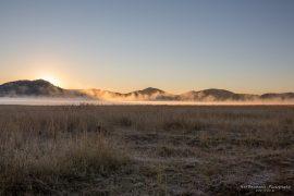 Sunrise at Mankwe Lake