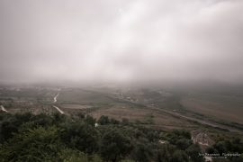 Obidos - fog is coming