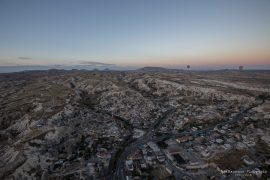 Balloon ride above Göreme