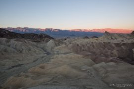 Zabriskie Point sunrise - Death Valley