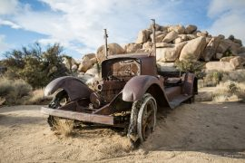 Wall Street Mill - Joshua Tree
