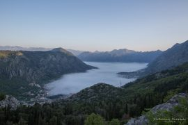 Bay of Kotor early morning