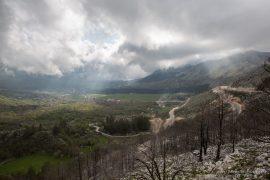 Road from Cetinje to Kotor