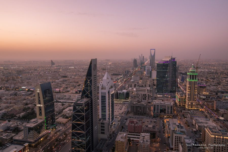 Riyadh - view from Al Faisaliah Tower